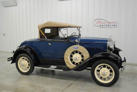 1931 Ford Model A for sale at Masterpiece Motorcars in Germantown WI