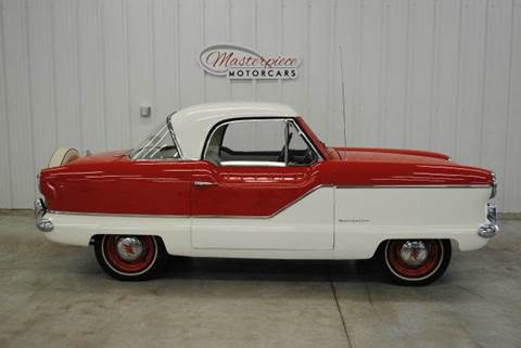 1960 AMC / Nash Metropolitan for sale at Masterpiece Motorcars in Germantown WI