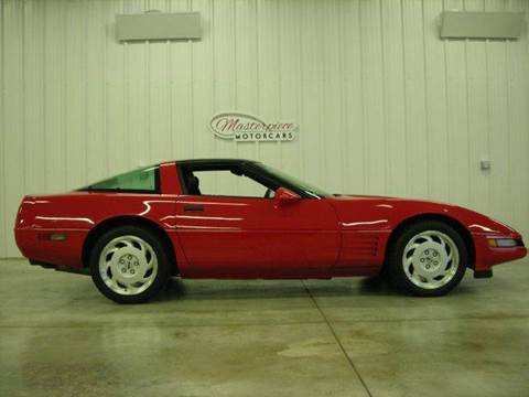 1992 Chevrolet Corvette for sale at Masterpiece Motorcars in Germantown WI