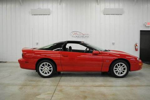 2002 Chevrolet Camaro for sale at Masterpiece Motorcars in Germantown WI