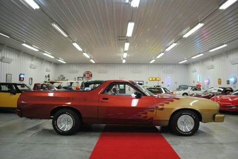 1973 Ford Ranchero 500 for sale at Masterpiece Motorcars in Germantown WI