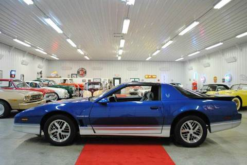1986 Pontiac Firebird for sale at Masterpiece Motorcars in Germantown WI