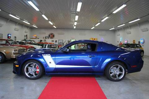 2007 Ford Mustang for sale at Masterpiece Motorcars in Germantown WI