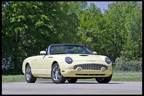 2002 Ford Thunderbird for sale at Masterpiece Motorcars in Germantown WI