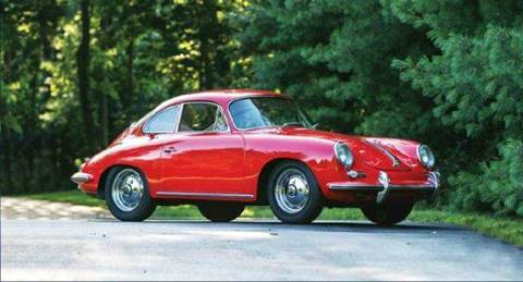 1963 Porsche 356B 1600 S Karmann Coupe for sale at Masterpiece Motorcars in Germantown WI