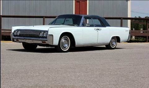 1963 Lincoln Continental for sale at Masterpiece Motorcars in Germantown WI