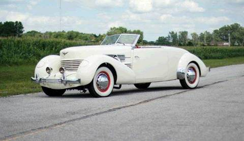 """1937 Cord 812 """"Sportsman"""" Convertible Co for sale at Masterpiece Motorcars in Germantown WI"""
