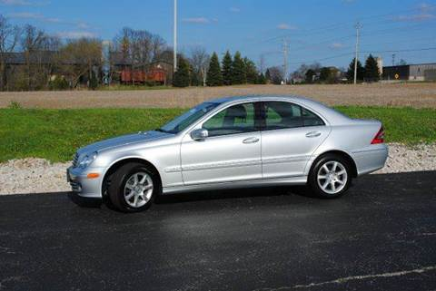2007 Mercedes-Benz C-Class for sale at Masterpiece Motorcars in Germantown WI