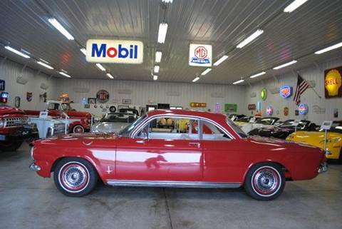 1963 Chevrolet Corvair for sale at Masterpiece Motorcars in Germantown WI