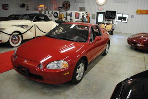 1993 Honda Civic del Sol for sale at Masterpiece Motorcars in Germantown WI