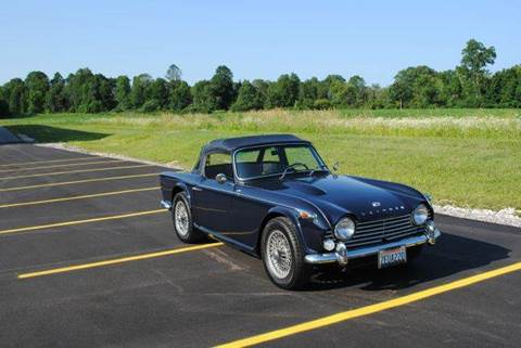 1967 Triumph TR4A IRS for sale at Masterpiece Motorcars in Germantown WI
