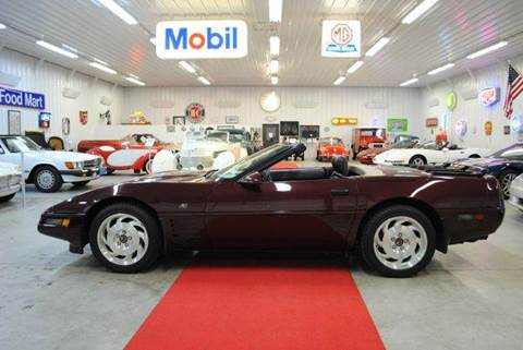 1993 Chevrolet Corvette for sale at Masterpiece Motorcars in Germantown WI