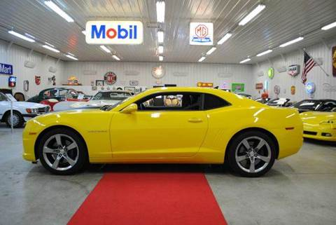 2011 Chevrolet Camaro for sale at Masterpiece Motorcars in Germantown WI