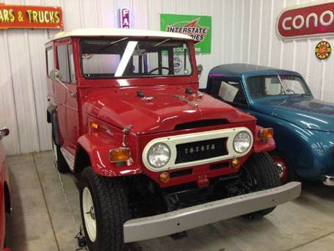 1969 Toyota FJ40 Land Cruiser for sale at Masterpiece Motorcars in Germantown WI