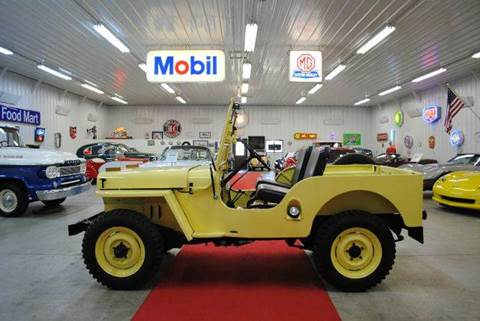 1946 Jeep Willys CJ 2A for sale at Masterpiece Motorcars in Germantown WI
