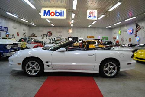 2001 Pontiac Firebird for sale at Masterpiece Motorcars in Germantown WI