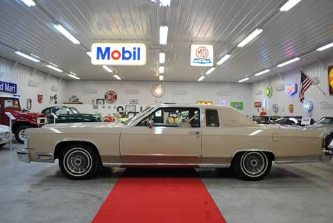 1979 Lincoln Continental for sale at Masterpiece Motorcars in Germantown WI