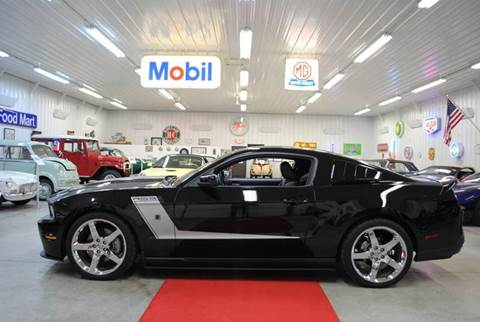 2012 Ford Mustang for sale at Masterpiece Motorcars in Germantown WI