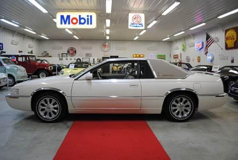 2002 Cadillac Eldorado for sale at Masterpiece Motorcars in Germantown WI