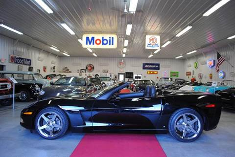 2008 Chevrolet Corvette for sale at Masterpiece Motorcars in Germantown WI