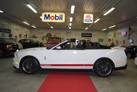 2012 Ford Shelby GT500 for sale at Masterpiece Motorcars in Germantown WI