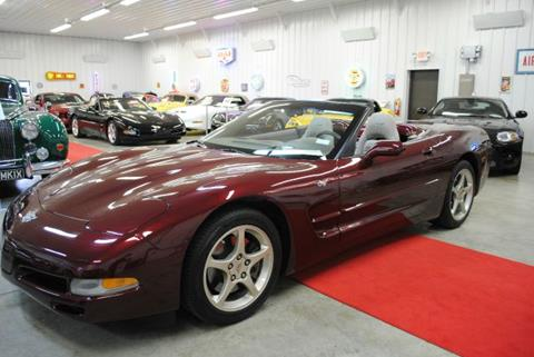 2003 Chevrolet Corvette for sale at Masterpiece Motorcars in Germantown WI