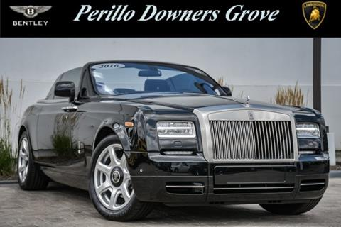2016 Rolls-Royce Phantom Drophead Coupe for sale in Downers Grove, IL