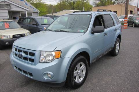 2009 Ford Escape Hybrid for sale at K & R Auto Sales,Inc in Quakertown PA