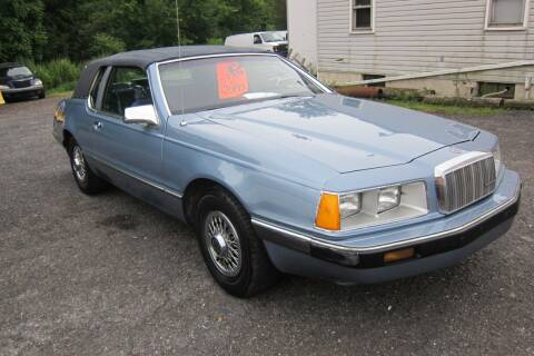 1986 Mercury Cougar for sale at K & R Auto Sales,Inc in Quakertown PA