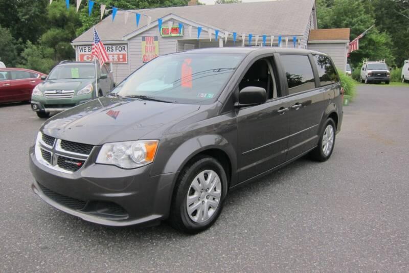 2016 Dodge Grand Caravan for sale at K & R Auto Sales,Inc in Quakertown PA