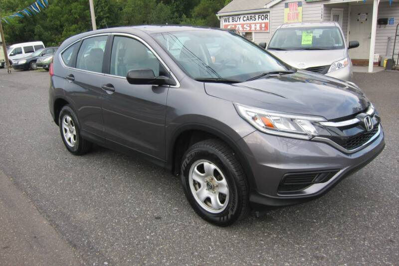 2015 Honda CR-V for sale at K & R Auto Sales,Inc in Quakertown PA