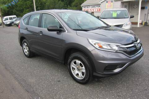2015 Honda CR-V for sale at K & R Auto Sales,Inc in Quakertown PA