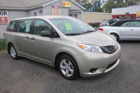 2016 Toyota Sienna for sale at K & R Auto Sales,Inc in Quakertown PA