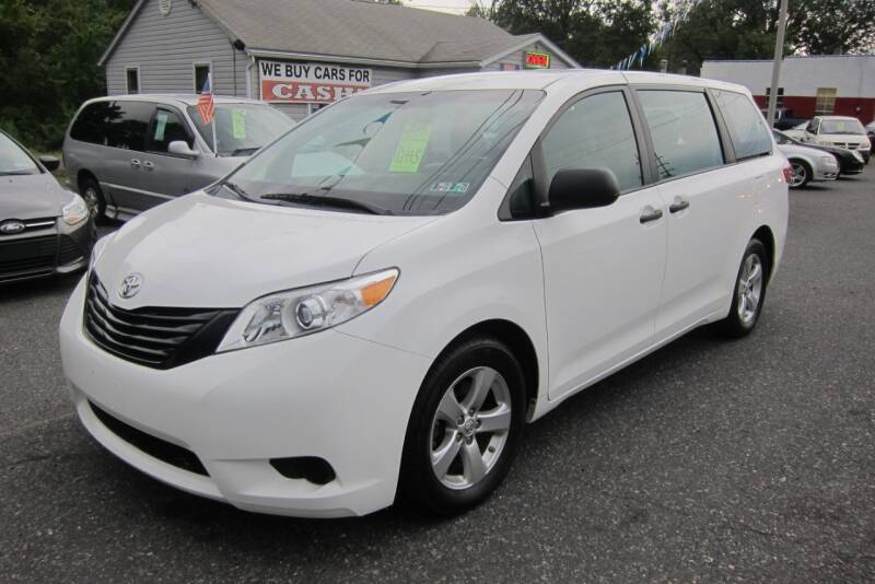 2015 Toyota Sienna for sale at K & R Auto Sales,Inc in Quakertown PA
