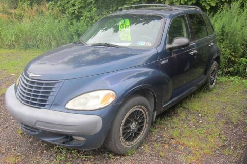 2001 Chrysler PT Cruiser for sale at K & R Auto Sales,Inc in Quakertown PA