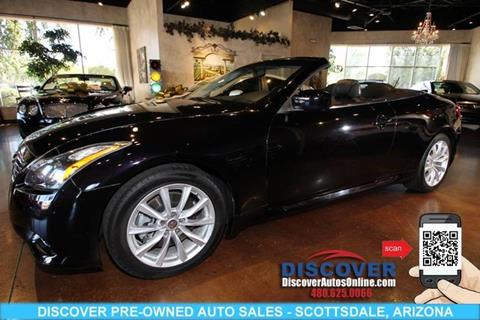 2013 Infiniti G37 Convertible for sale in Scottsdale, AZ