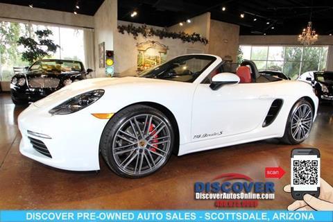 2017 Porsche 718 Boxster for sale in Scottsdale, AZ