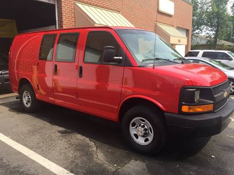 2008 Chevrolet Express Cargo for sale at Used Cars of Fairfax LLC in Woodbridge VA