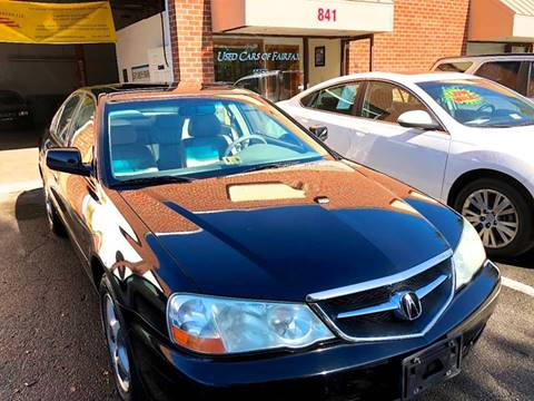 2003 Acura TL for sale at Used Cars of Fairfax LLC in Woodbridge VA