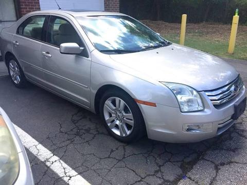 2008 Ford Fusion for sale at Used Cars of Fairfax LLC in Woodbridge VA