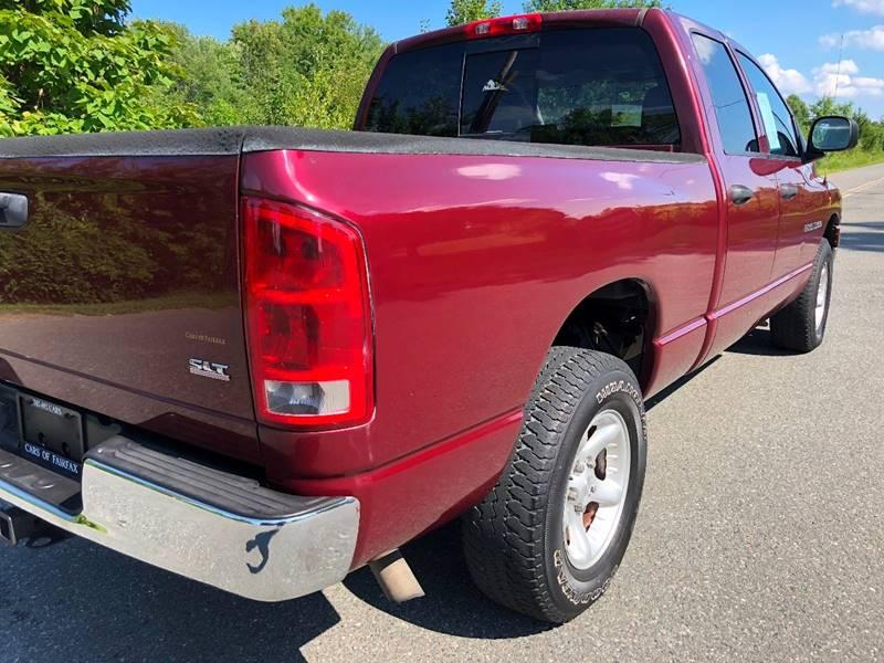 2003 Dodge Ram Pickup 1500 4dr Quad Cab SLT Rwd SB In Woodbridge VA