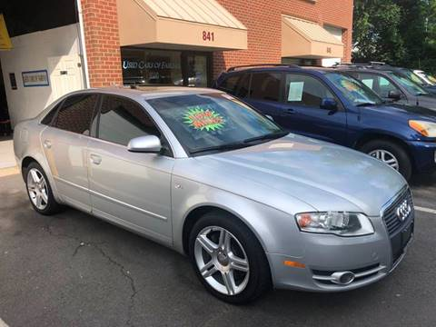 2007 Audi A4 for sale at Used Cars of Fairfax LLC in Woodbridge VA