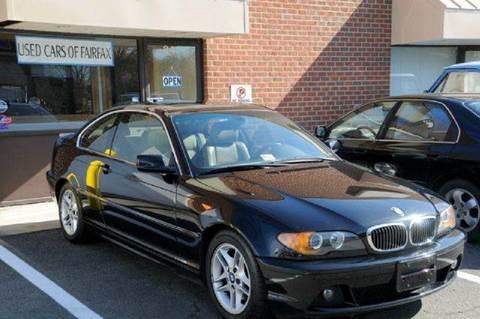 2004 BMW 3 Series for sale at Used Cars of Fairfax LLC in Woodbridge VA