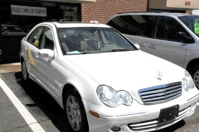 2006 Mercedes-Benz C-Class for sale at Used Cars of Fairfax LLC in Woodbridge VA