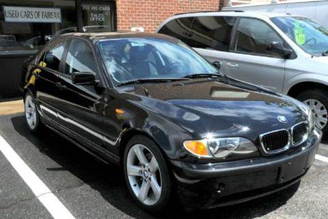 2005 BMW 3 Series for sale at Used Cars of Fairfax LLC in Woodbridge VA