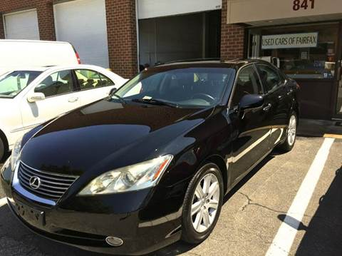 2008 Lexus ES 350 for sale at Used Cars of Fairfax LLC in Woodbridge VA
