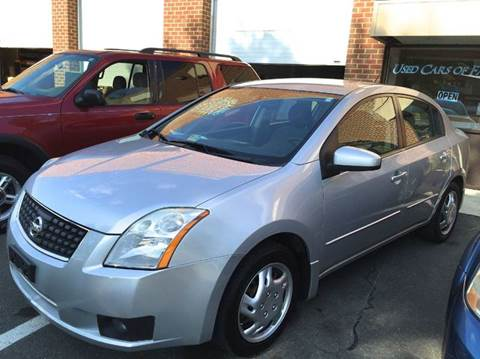 2007 Nissan Sentra for sale at Used Cars of Fairfax LLC in Woodbridge VA
