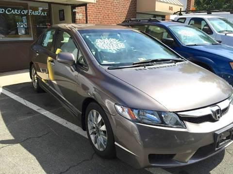 2011 Honda Civic for sale at Used Cars of Fairfax LLC in Woodbridge VA