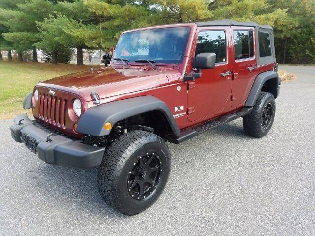 2007 Jeep Wrangler Unlimited for sale at Used Cars of Fairfax LLC in Woodbridge VA