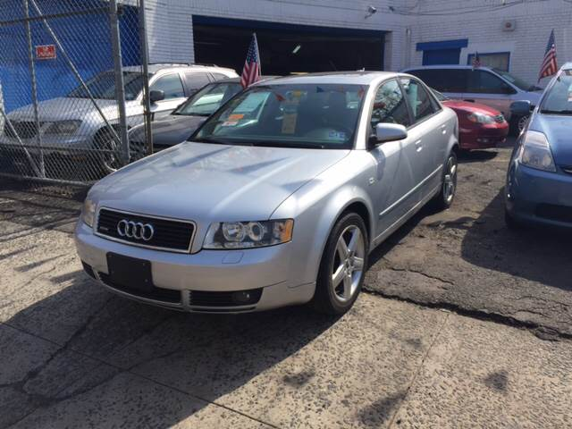 2005 Audi A4 for sale at DEALS ON WHEELS in Newark NJ